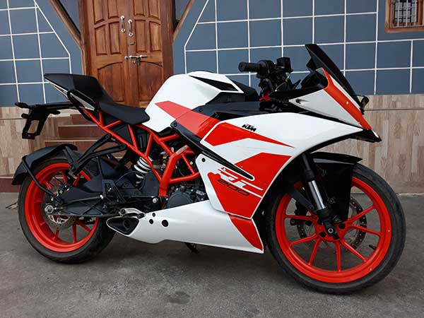 Want to sell my KTM RC 200 Bike