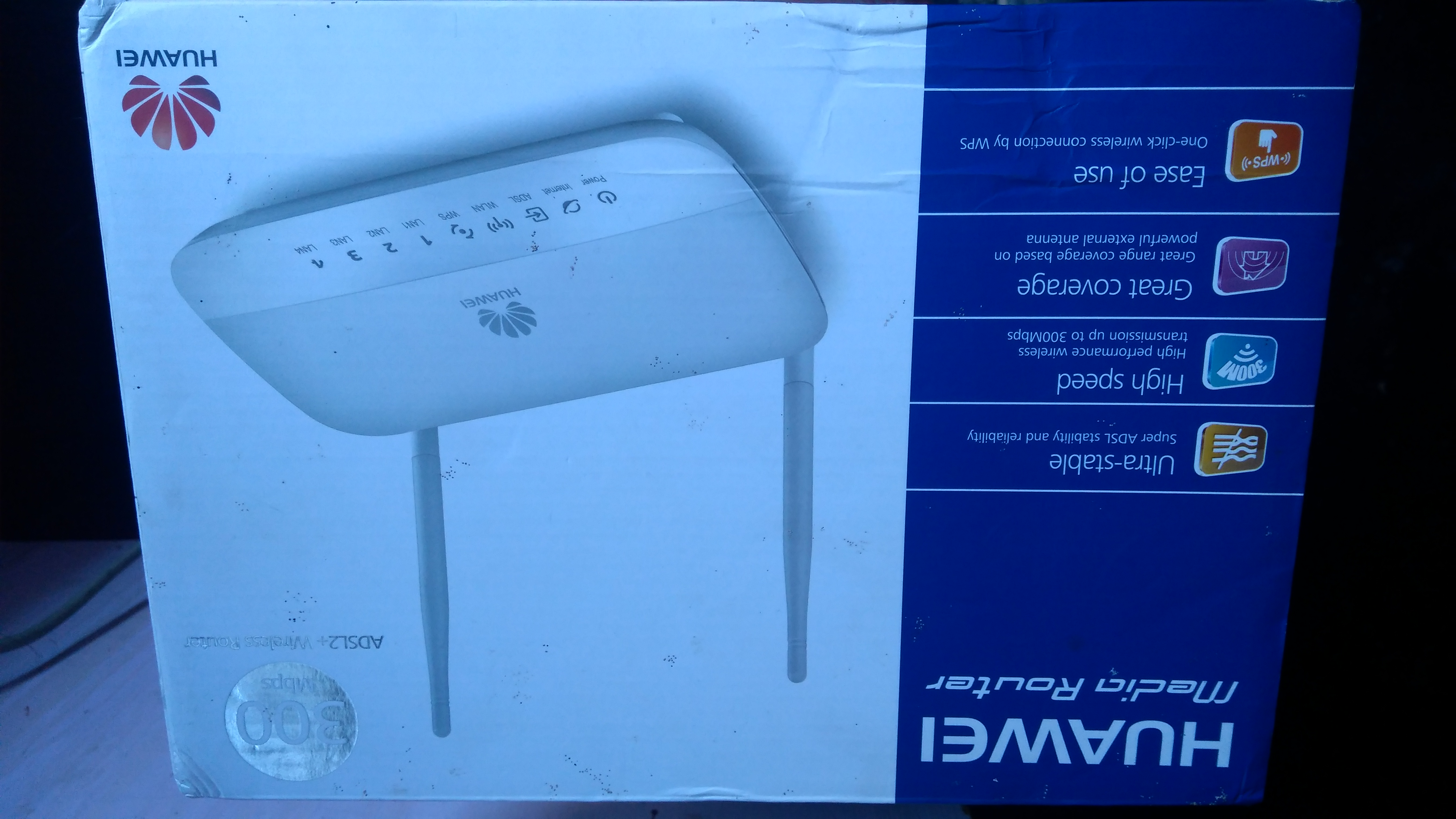 Used toudriba modem adsl+router
