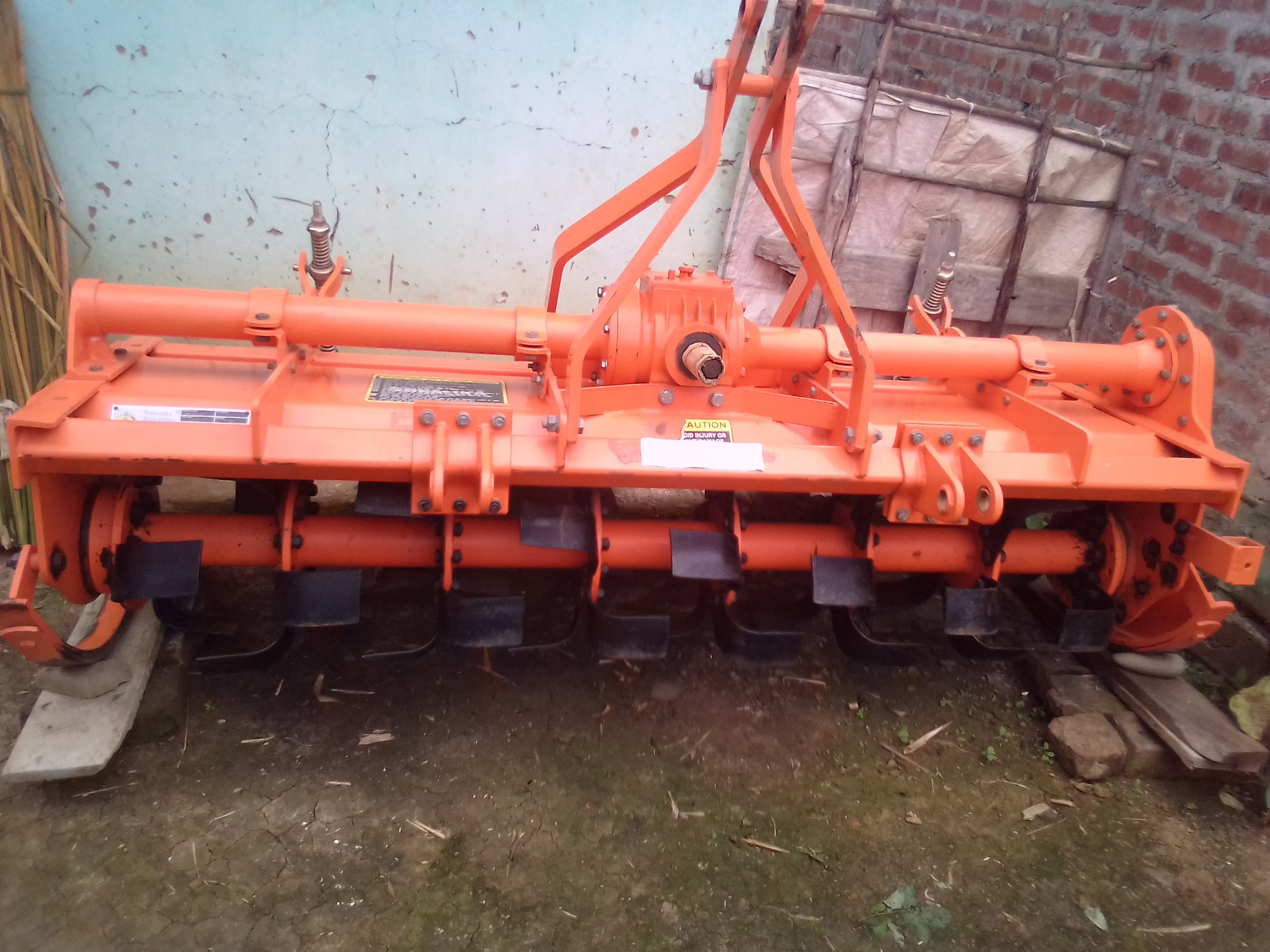 Rotavator ahanba 2020 model 6 feet 42 blede