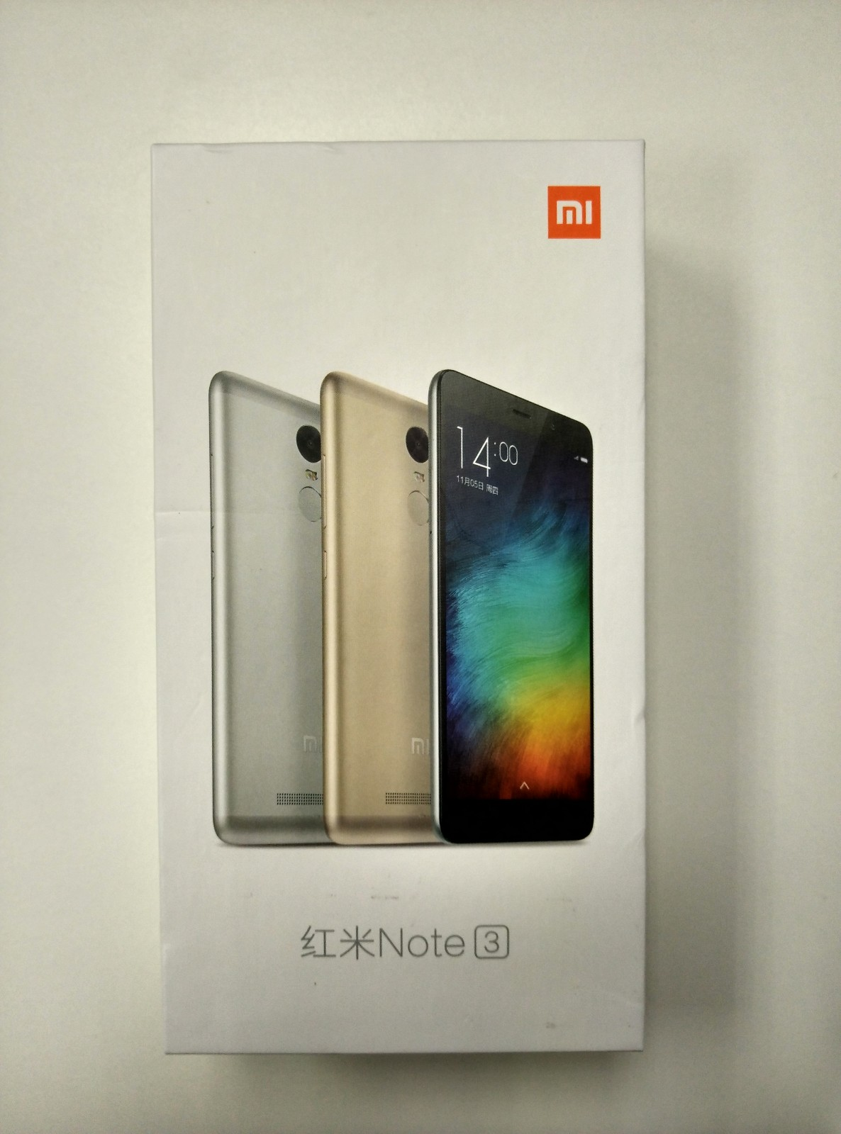 Mi note 3 seal pack at online price itself